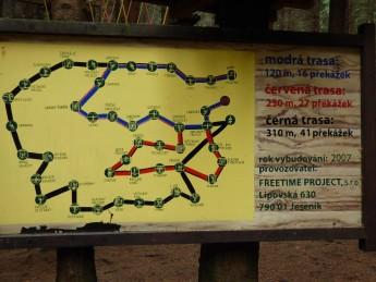 trasy lanového centra