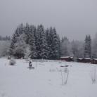 zima na ranči